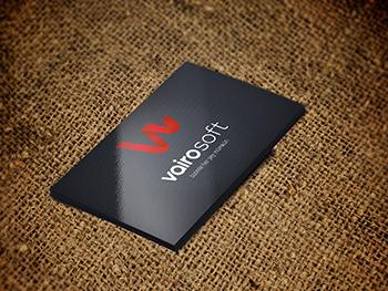 Vairosoft Logo Tasarım Çalışması