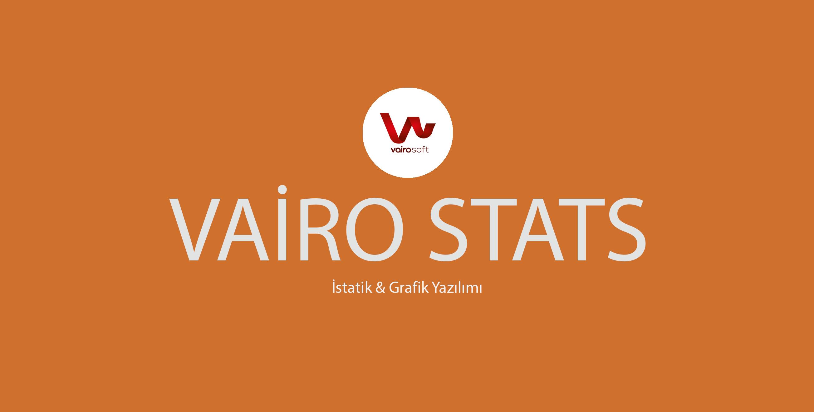 Vairosoft İstatistik Yazılımı